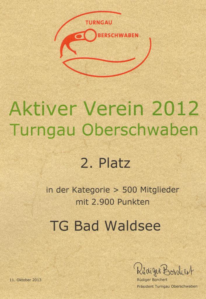 Turngau-zweiter-Platz2013