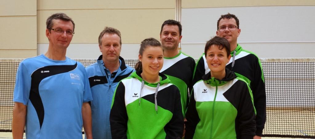 Badminton Team gegen Staig1