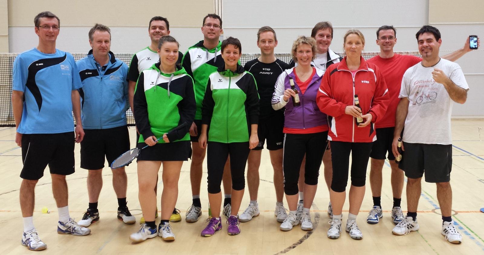 Badminton Team gegen Staig2