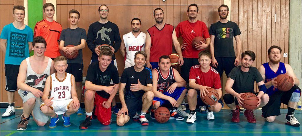 Basketballer der TG Bad Waldsee