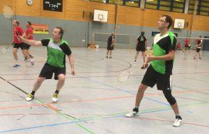 Ralf Strobel (rechts) und Josef Prinz in Aktion.