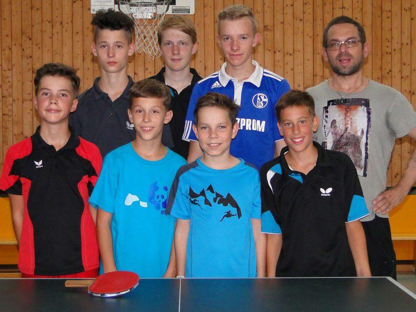 Jugend Tischtennis