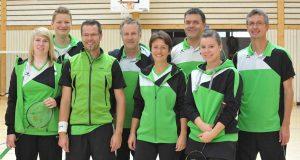 Das TG-Team gegen die MTG Wangen (von links): Sarah Schmid, Raphael Kühndel, Ralf Frick, Josef Prinz, Sabine Rauhut, Christof Rauhut, Maren Zitzmann und Michael Deffner